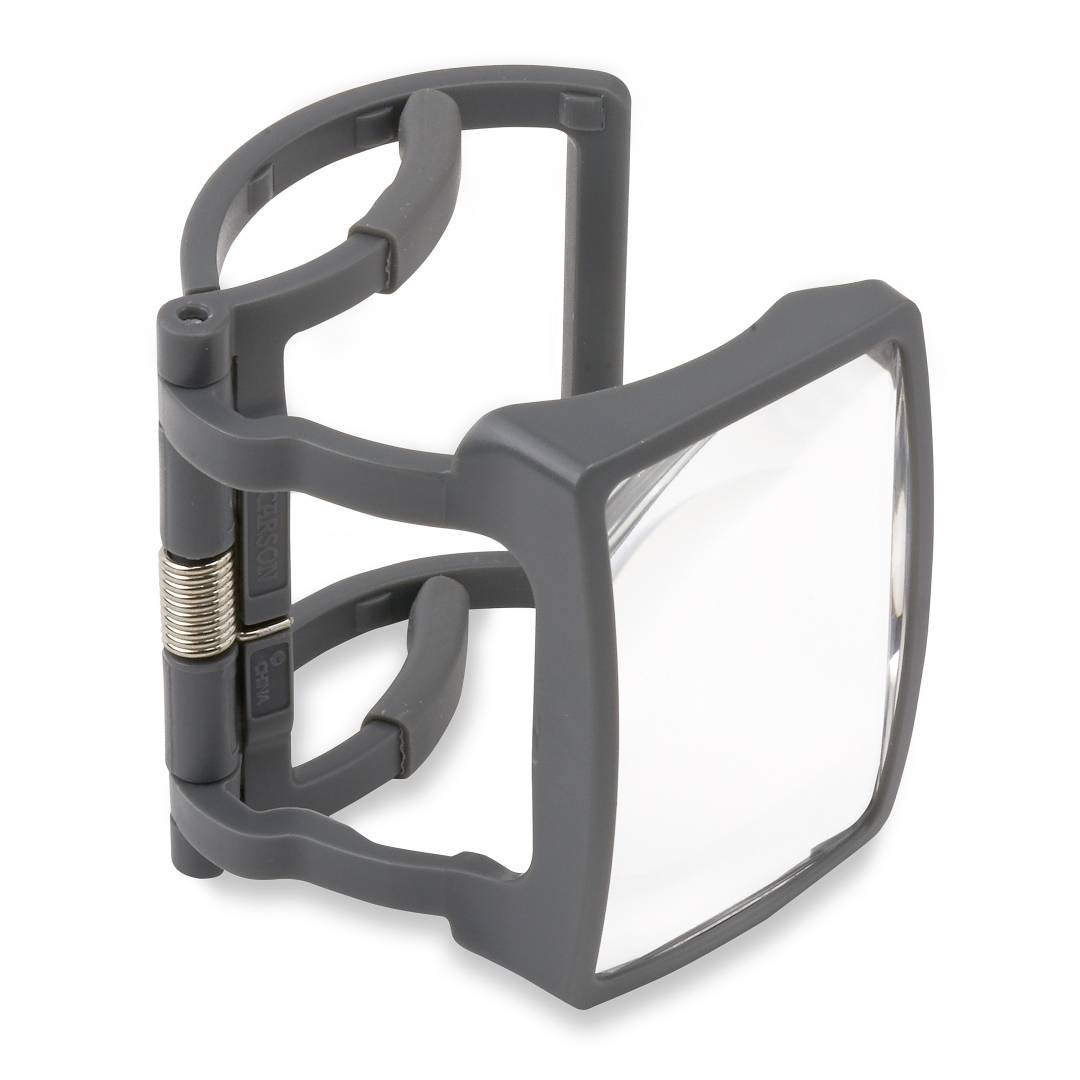 RX-55, MagRX™ - a 2.5x power clip-on magnifier designed to fit on most standard prescription bottles