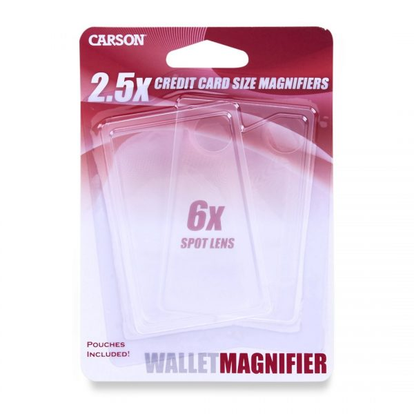 WALLET MAGNIFIER TWIN-PACK